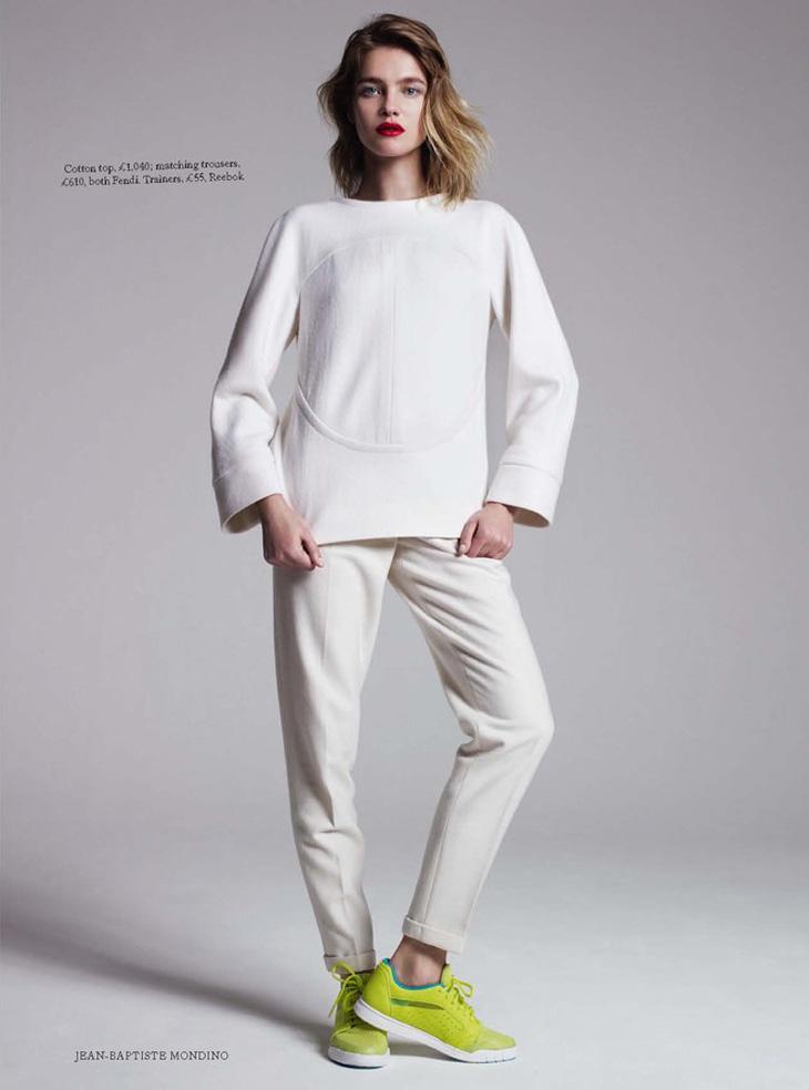 Наталья Водянова для британского журнала Harper `s Bazaar (6 фото)