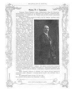 Князь П.И. Туманов.