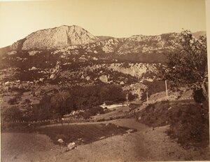 Горный перевал по дороге из Ялты в Алушту.