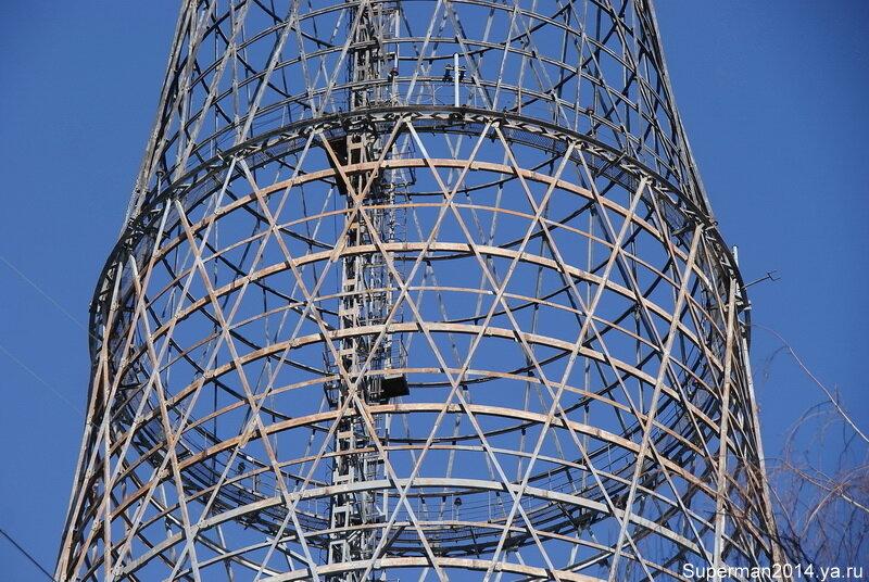 Шуховская башня на Шабаловке