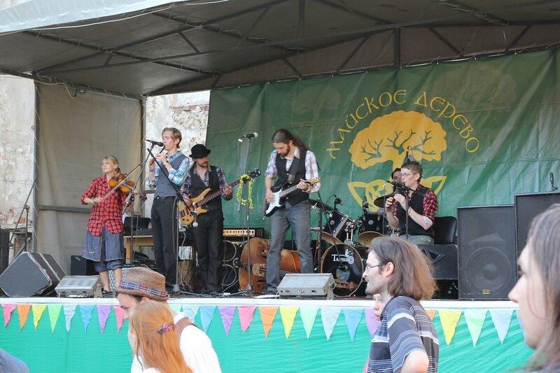 Выступление группы Shedda на фестивале «Майское дерево 2014»