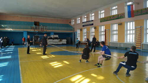 Спартакиада призывной молодежи Барабинска