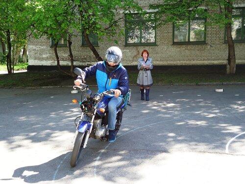 Соревнования скутеристов в Куйбышеве