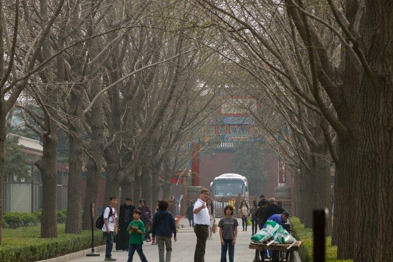 Императорская дорога, монастырь Юнхэгун, Пекин
