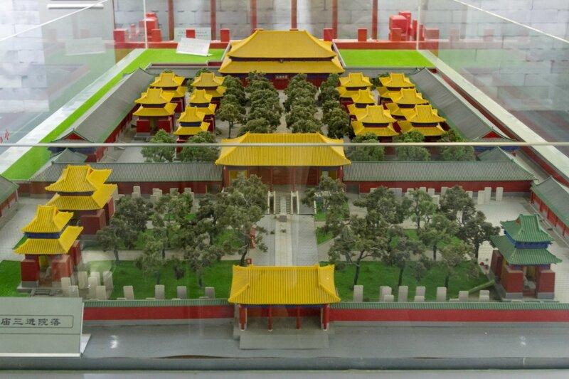 Макет Храма Конфуция, Храм Конфуция, Пекин