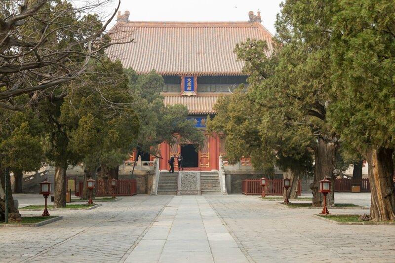 Зал Полного Совершенства (Дачэндянь), Храм Конфуция, Пекин