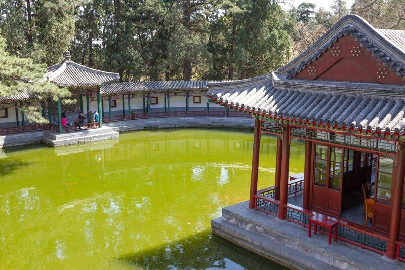 Озеро, парк Сяншань, Пекин