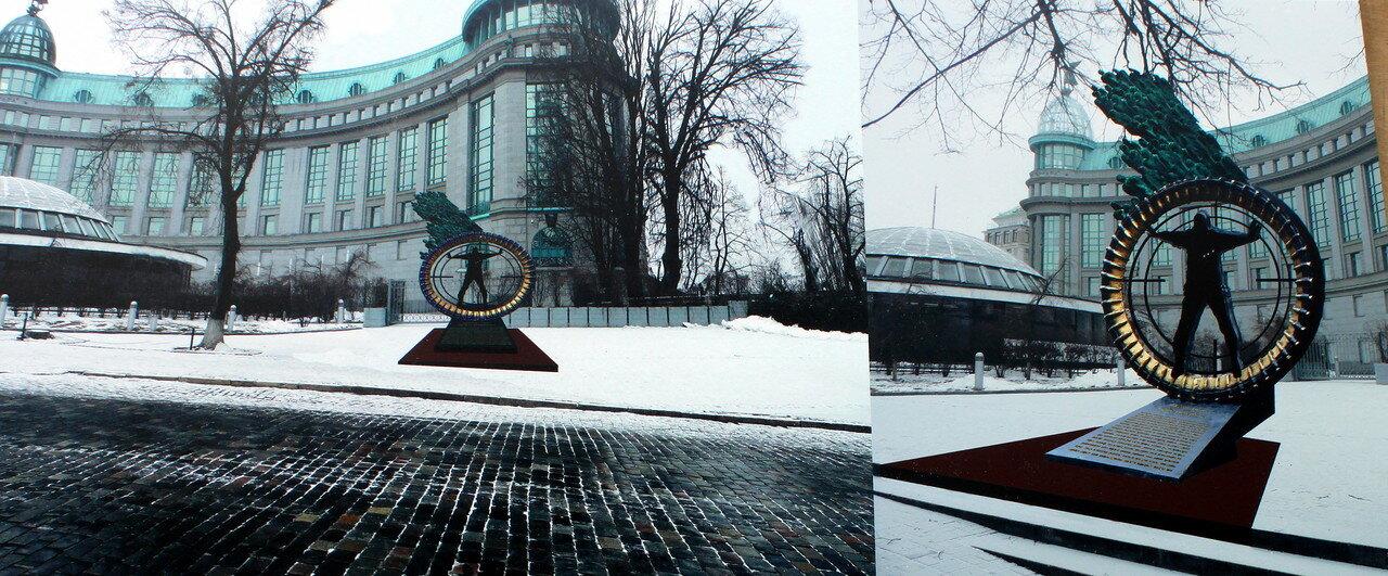 Памятник жертвам расстрела на Институтской