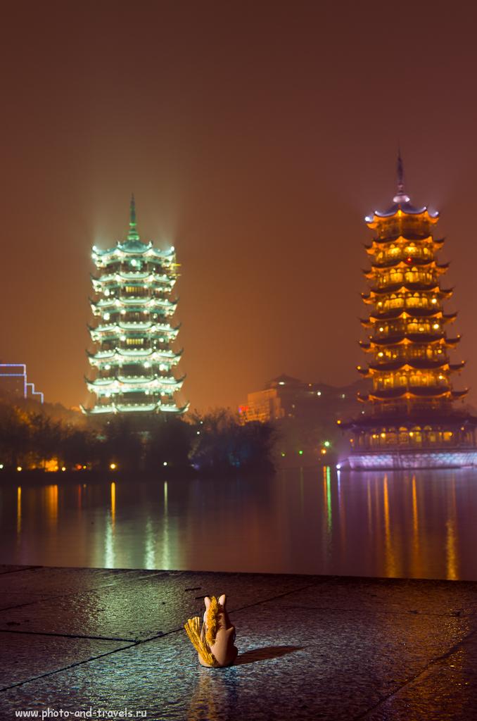 Борька добрался в город Гуйлинь (Guilin), чтобы посмотреть Пагоды Солнца и Луны. Отчет о поездке по Китаю самостоятельно.