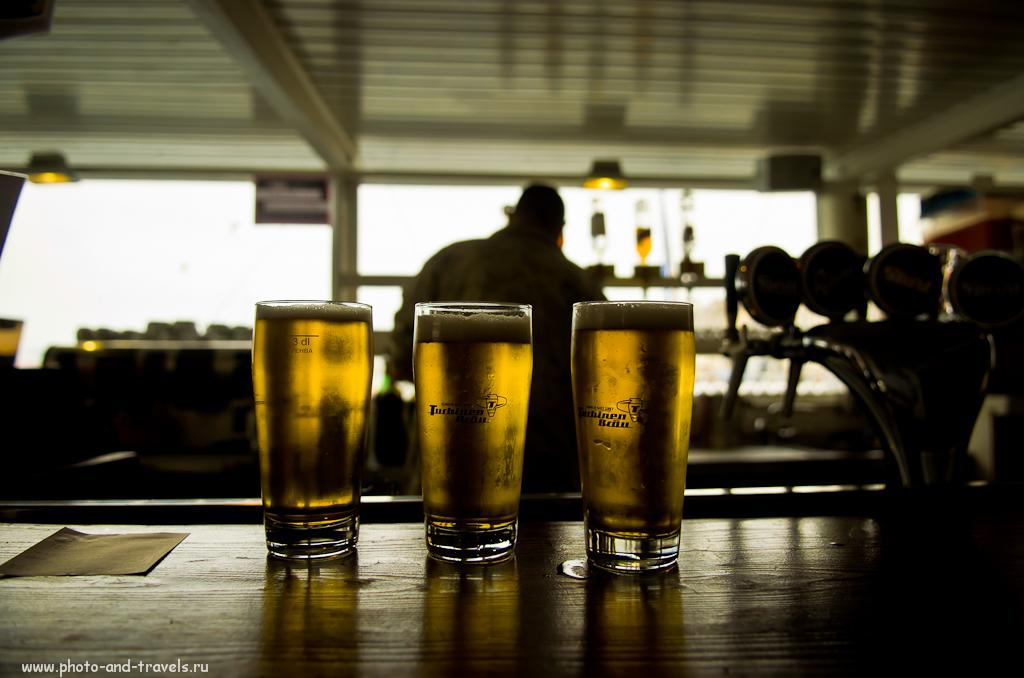 Фото 9. В Женеве пиво, все таки, вкусное. На троих?..