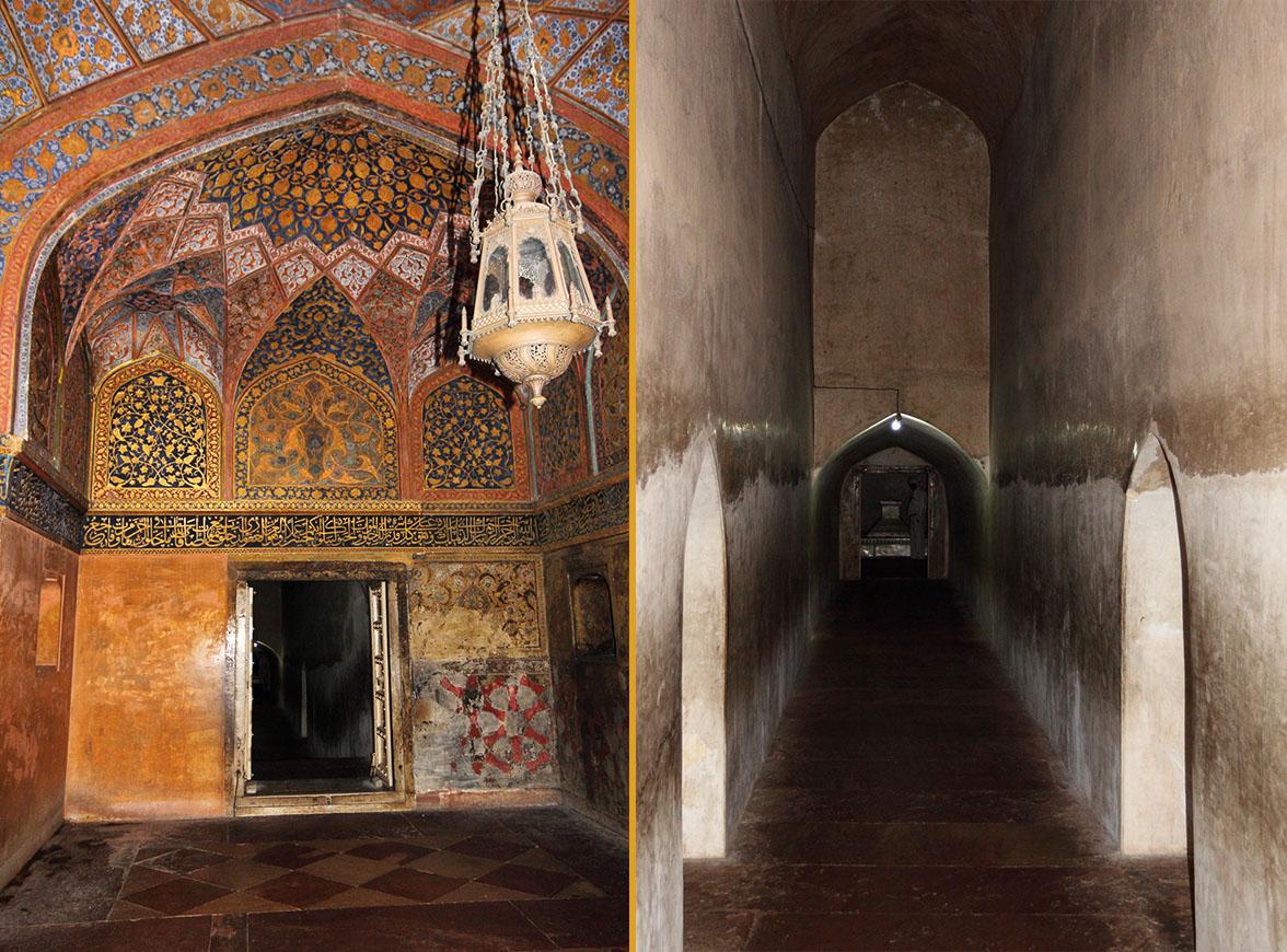 Фотография 22. Туры в Индию. Отделка стен гробницы