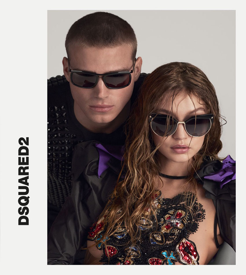 Gigi Hadid and Matthew Noszka - DSquared2 Spring-Summer 2017 Campaign