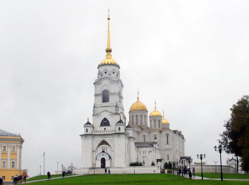 2013-09 Белокаменные храмы - Успенский Собор (Владимир) 1160 г