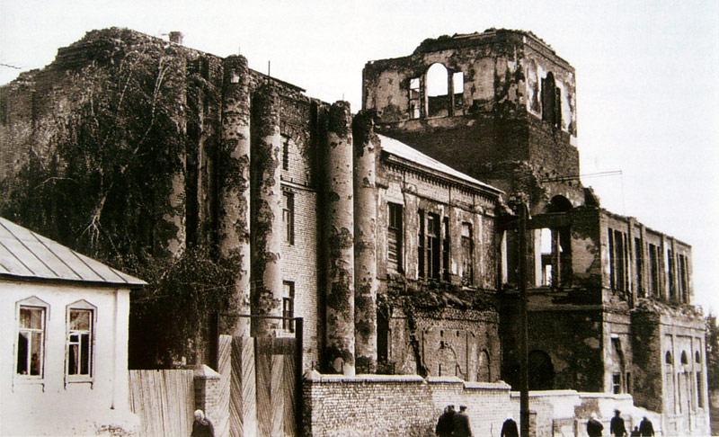 Храм Сретения Господня в Ельце перед взрывом