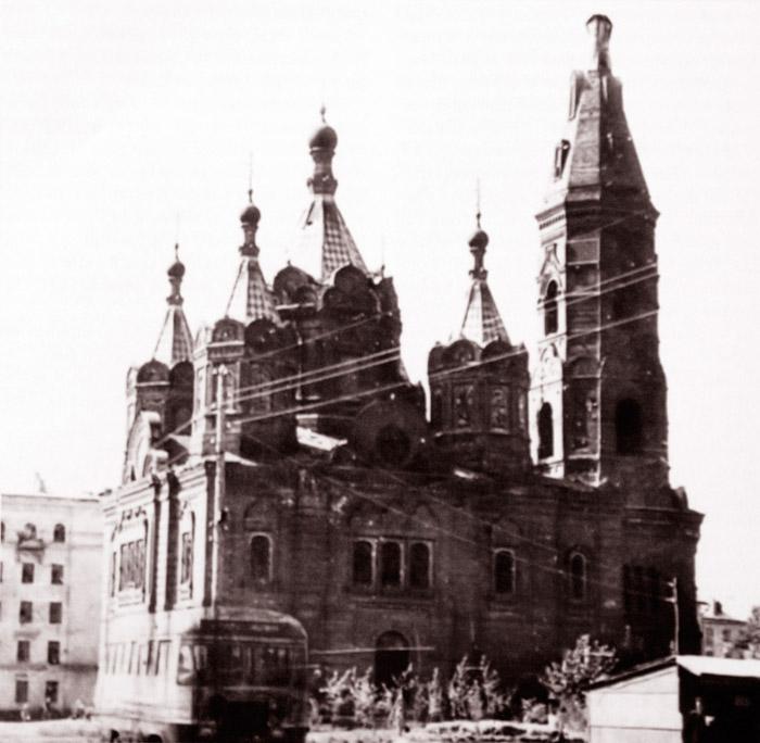 Храм Елецкой иконы Божией Матери в 1980-е годы