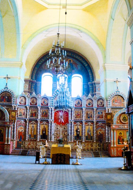 Внутреннее убранство храма Елецкой иконы Божией Матери