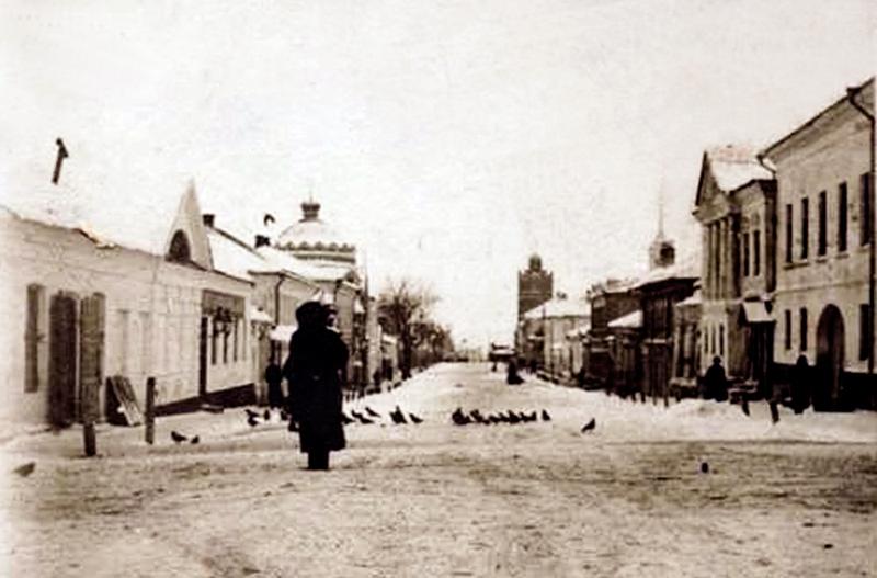 Успенская улица до начала строительства Великокняжеского храма