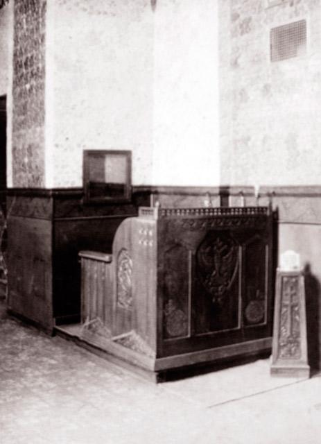 Свечной ящик Александро-Михайловской церкви