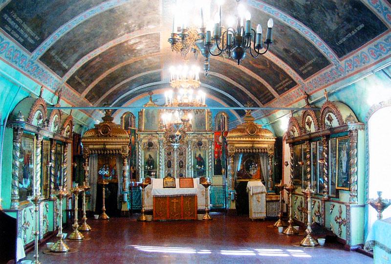 Внутренний вид Казанской церкви