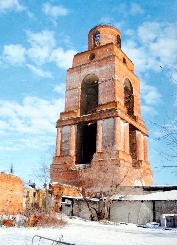 Колокольня Троицкого монастыря Ельца