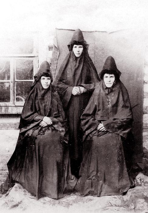 Насельницы Знаменского монастыря