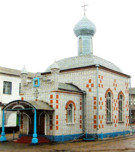 Храм Воскресения Христова в ИК-4 Ельца