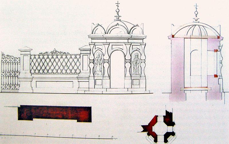 Проект часовни возле Троицкой церкви