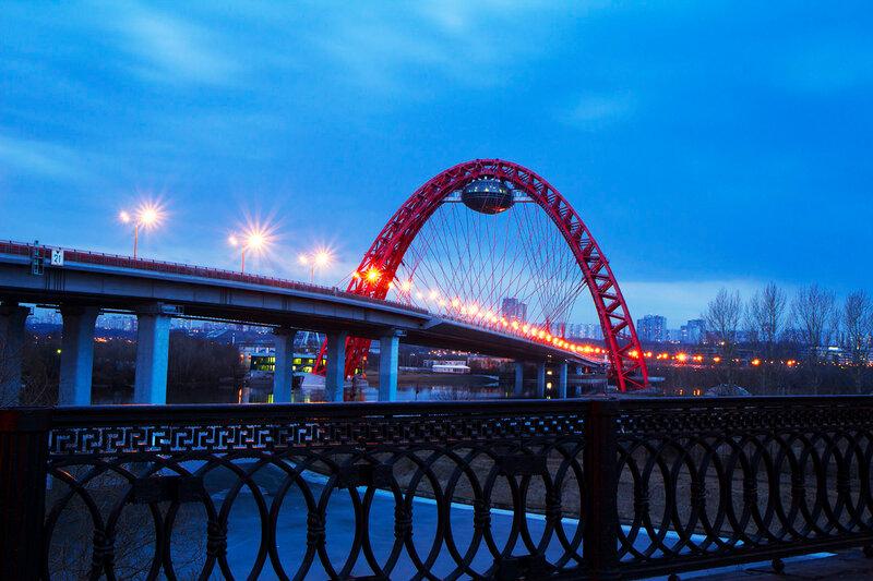 Вантовый мост Живописный мост