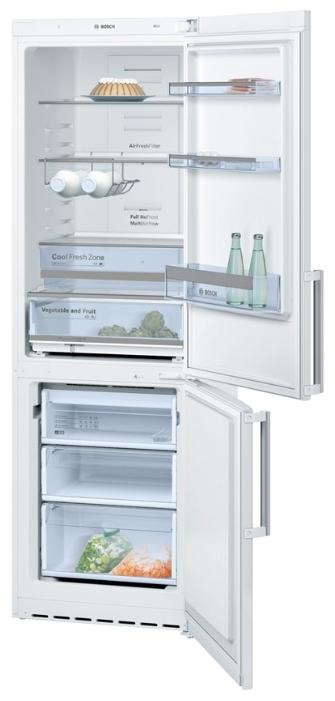 холодильник Bosch белый расположение полок