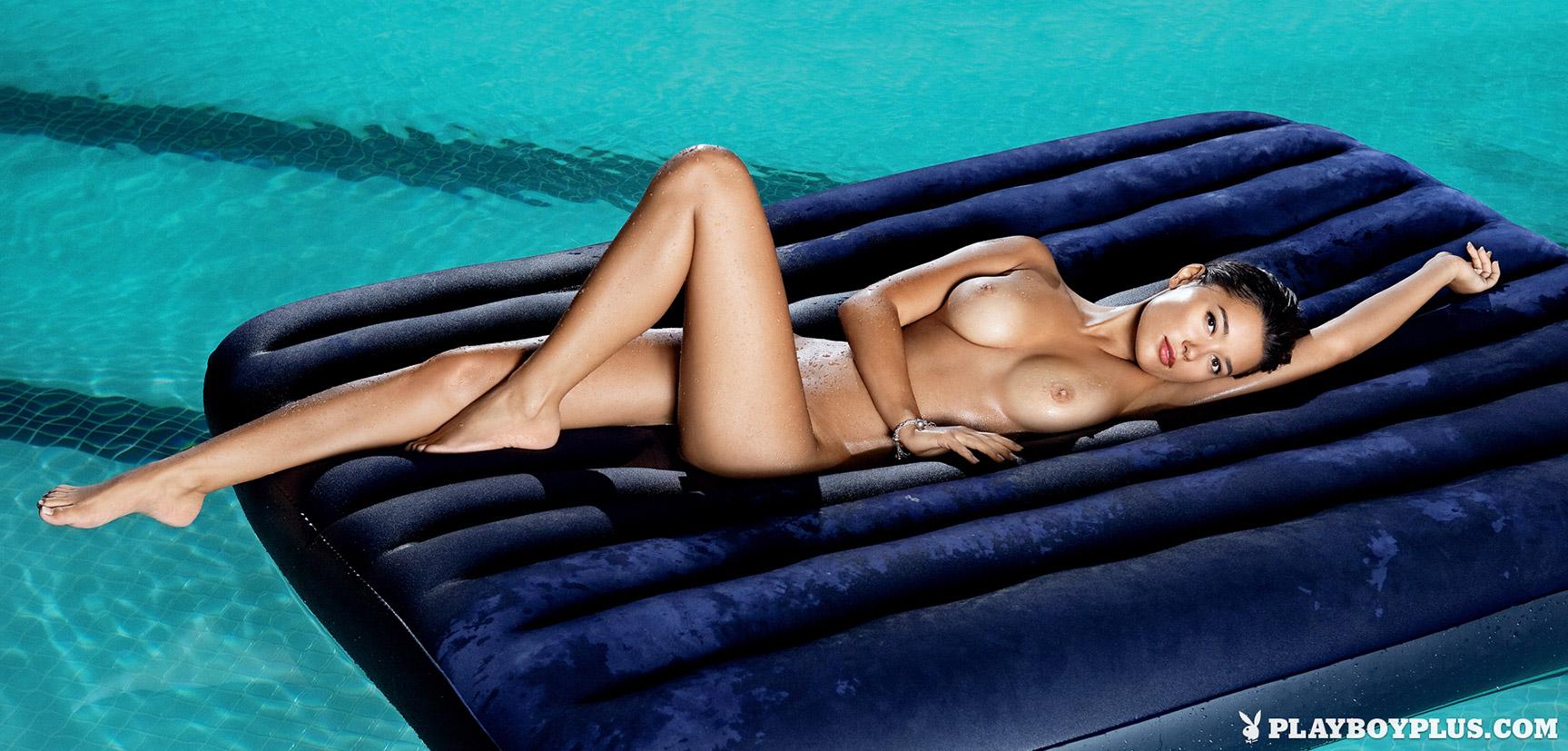 Девушка месяца Евгения Тищенко в Playboy Украина, январь 2013