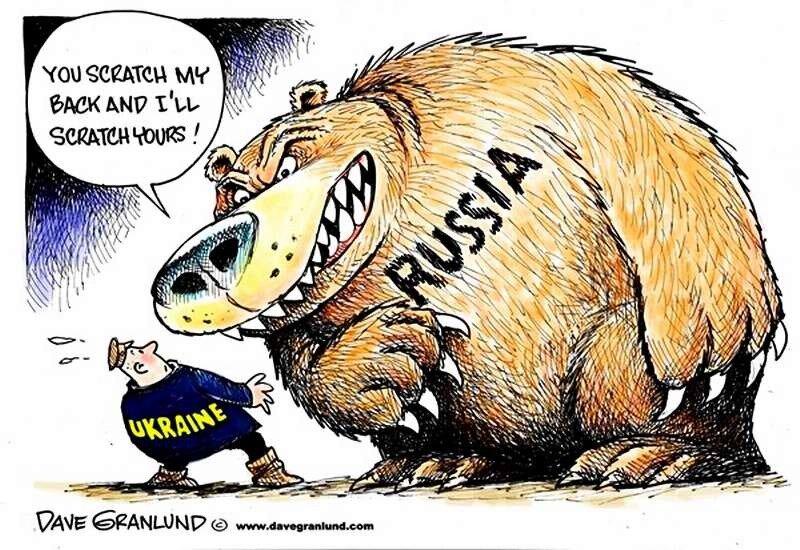 Россия и Украина (Dave Granlund)