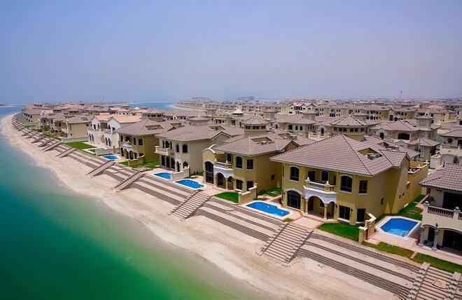 Острова Пальм (Palm Islands). Дубай