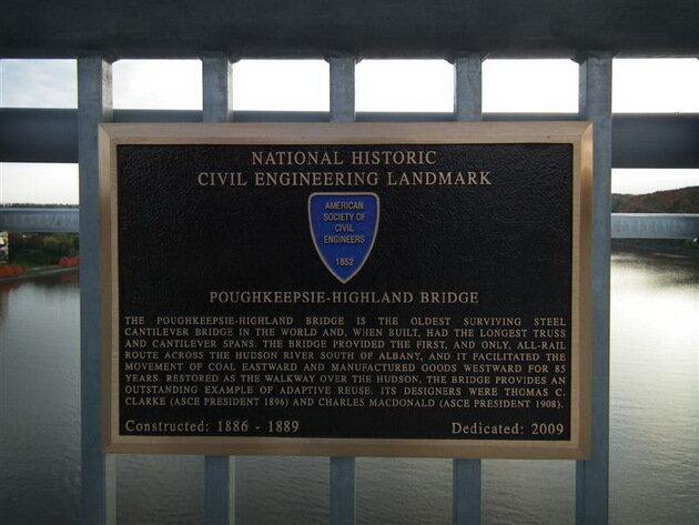 Мост через реку Гудзон