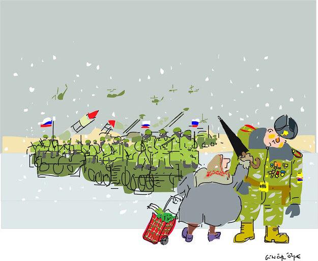 Empire strikes back © Gungor Ozme