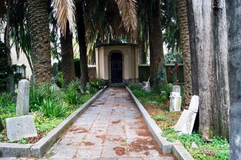 Кладбище у церкви Св. Антуана