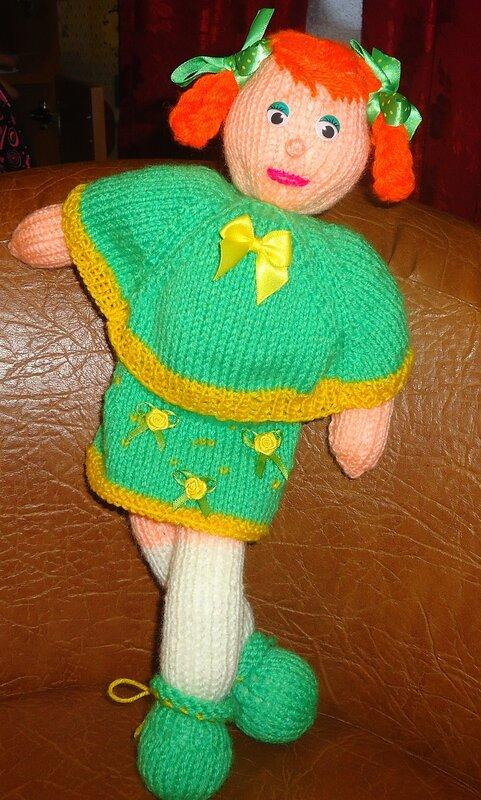 Мягкая игрушка Кукла Яна