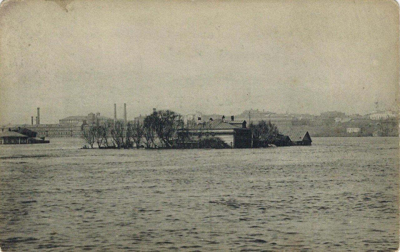 Наводнение в Москве 1908. Дорогомилово