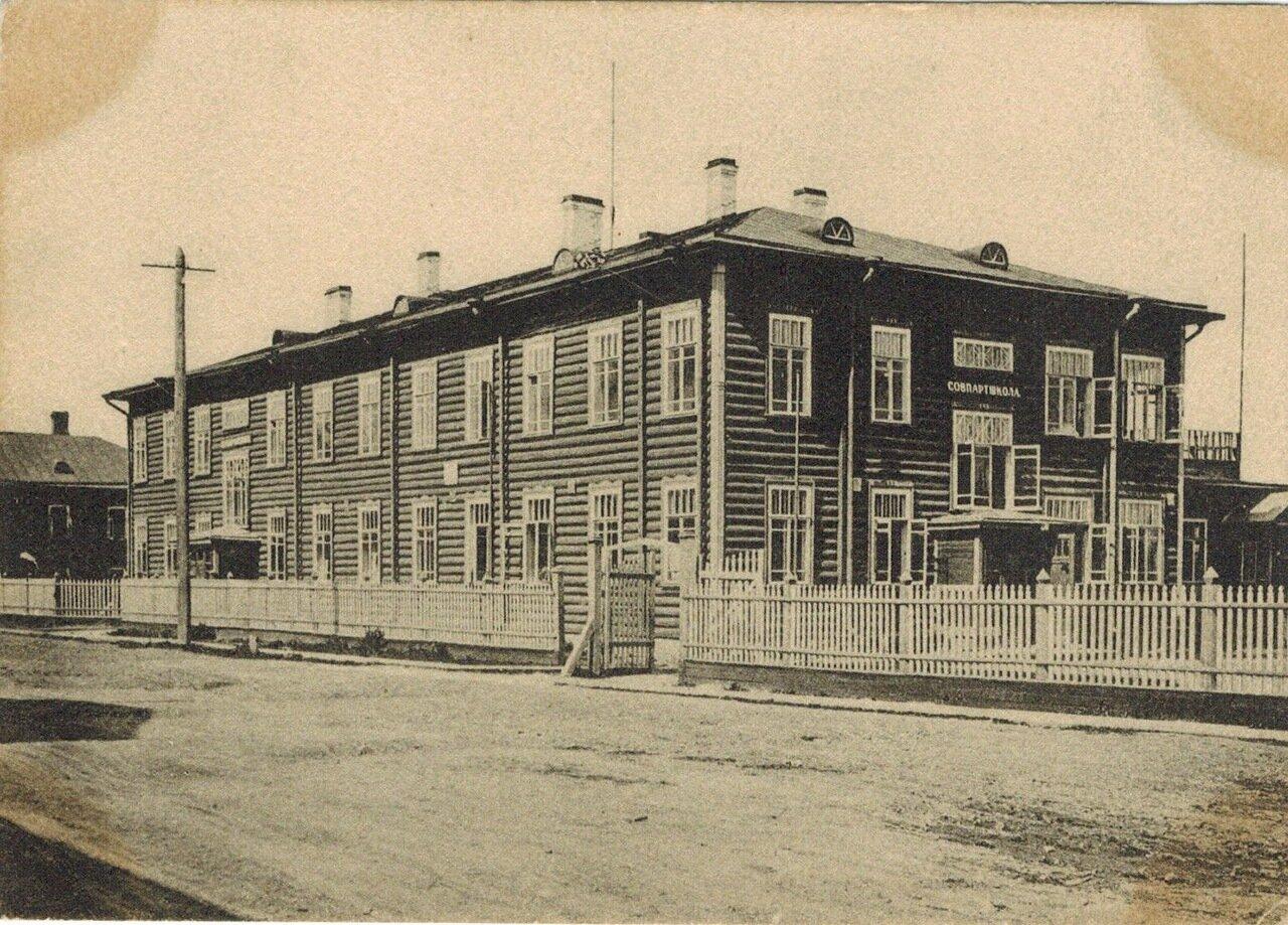 Петрозаводск на открытке