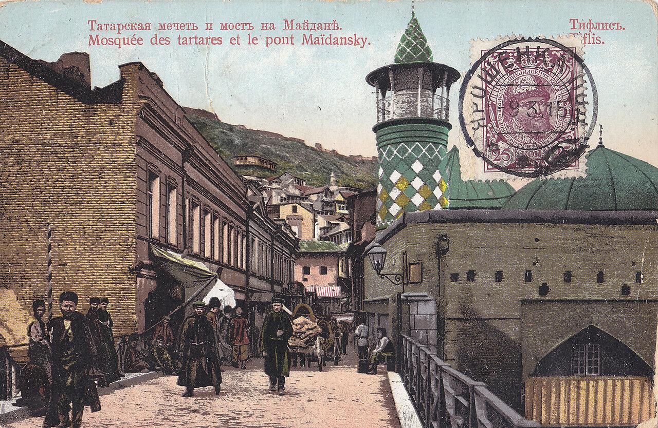 Татарская мечеть и мост на Майдане