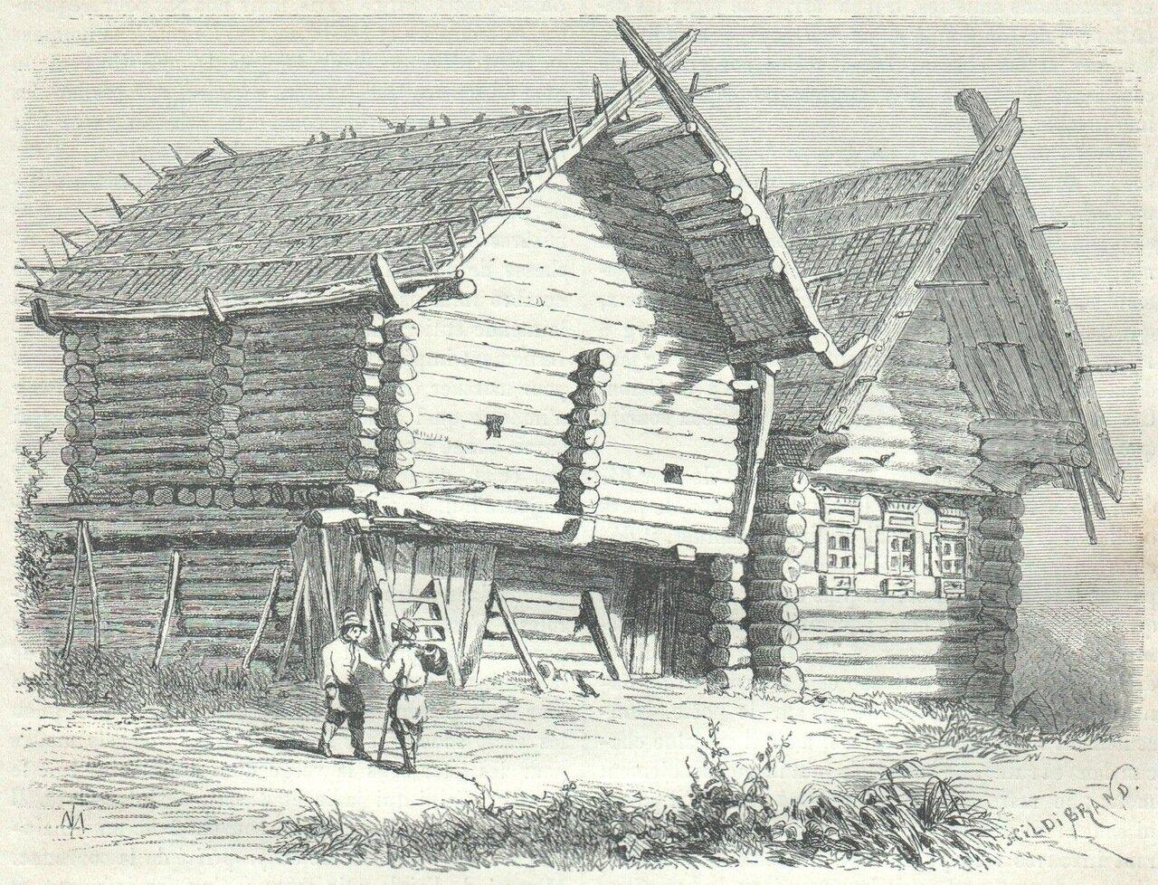 1872. Дома на русском севере