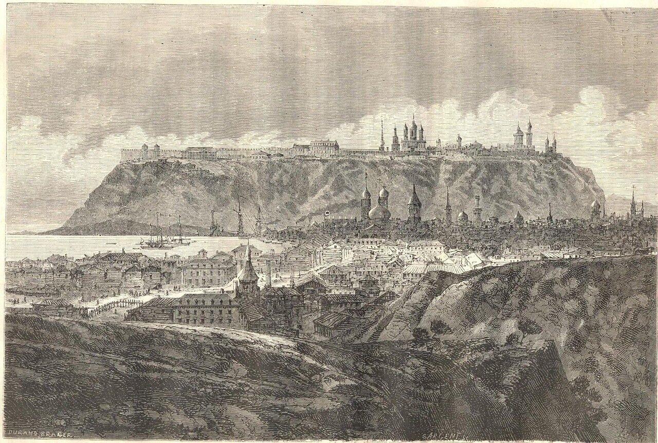1862. Сибирь. Тобольск. Общий вид