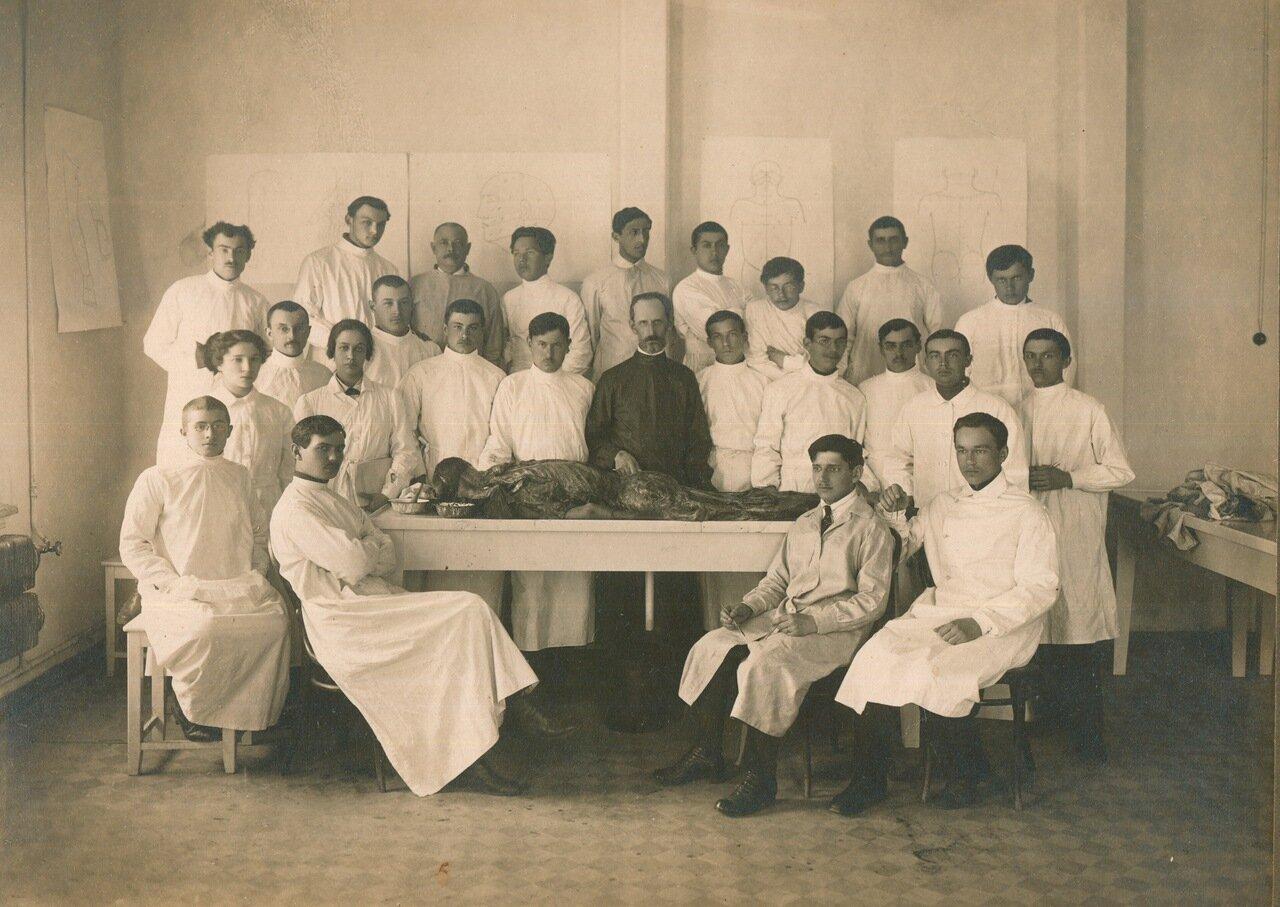 1920-е. Пермский государственный университет, медицинский факультет
