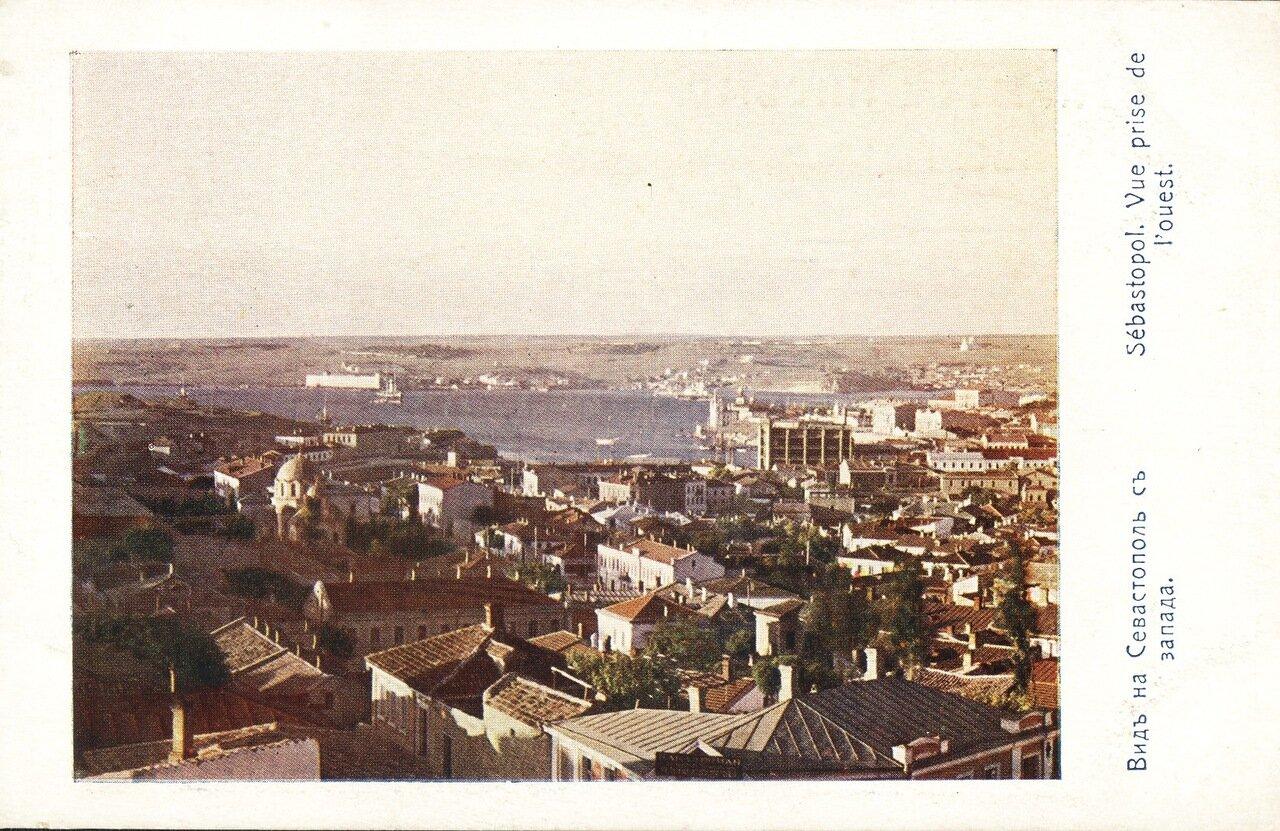 Вид на город с запада