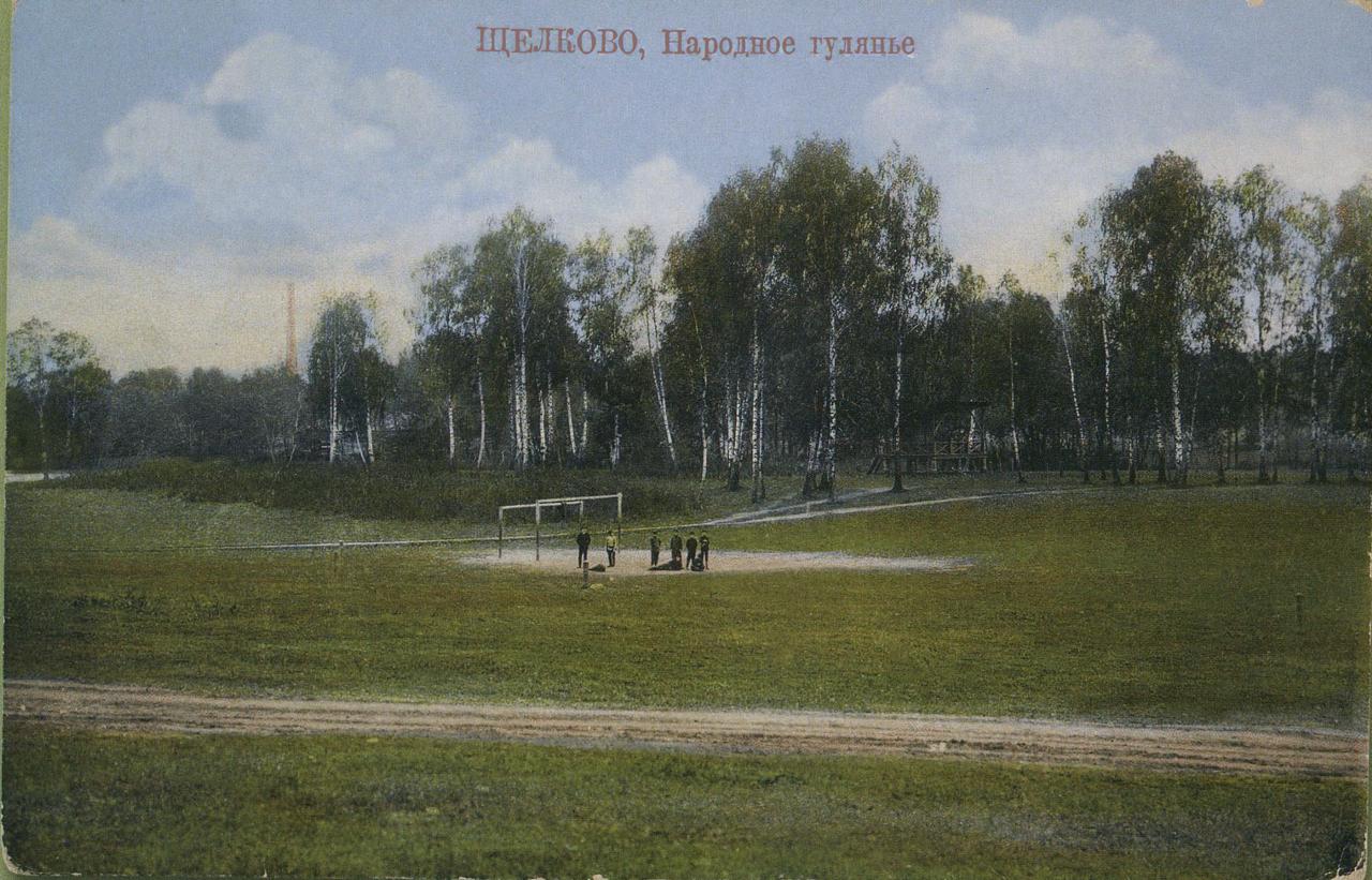 Окрестности Москвы. Щелково. Народное гуляние