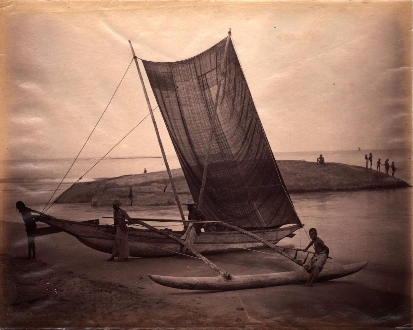 Рыболовное судно. 1880