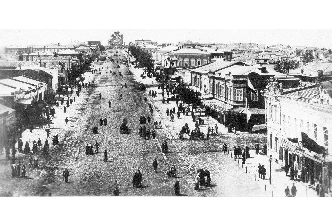 Улица Екатерининская. 1910