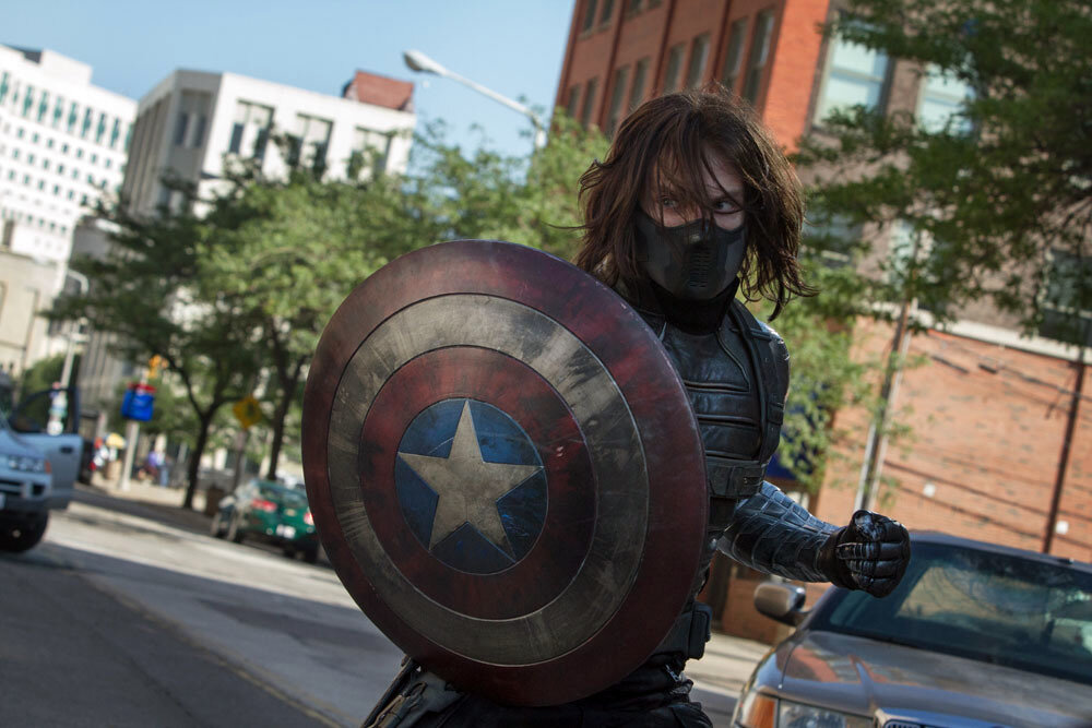 """Marvel's Captain America: The Winter Soldier""Winter Soldier (Sebastian Stan)Ph: Zade Rosenthal© 2014 Marvel.  All Rights Reserved."