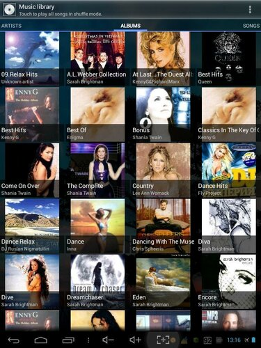 MusicMod. Альбомы (версия 1.4)