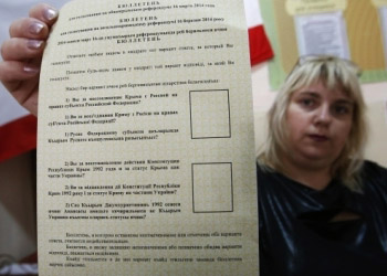 В Крыму начался непризнанный международным сообществом референдум