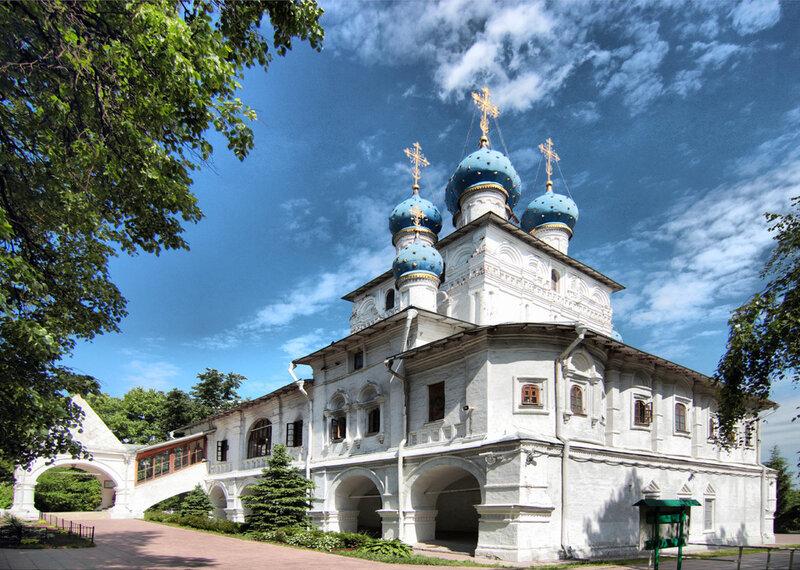 Парк Коломенское в Москве - Храм Казанской Божьей матери